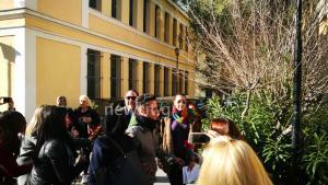 Στα δικαστήρια ο Στέλιος Διονυσίου – Επιμένει πως δεν χτύπησε αστυνομικό [pics, vids]