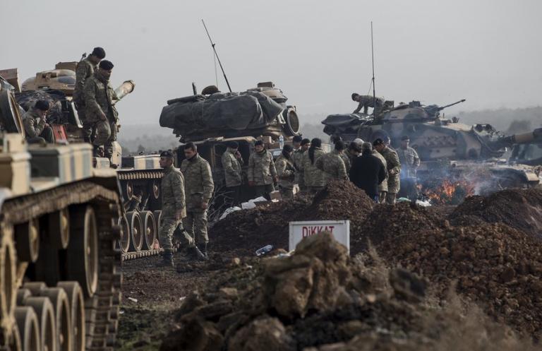 Συρία: Νεκρός τούρκος στρατιώτης! Συνεχίζεται η πολεμική επιχείρηση του Ερντογάν | Newsit.gr