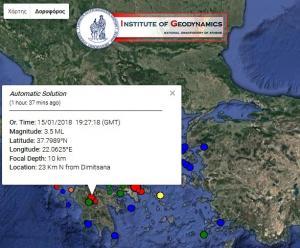 Σεισμός και στην Τρίπολη!