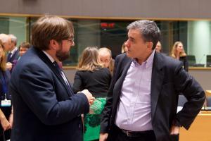 Τσακαλώτος: Θετικό Eurogroup για την Ελλάδα – Δεν θα υπάρξει προληπτική πιστωτική γραμμή