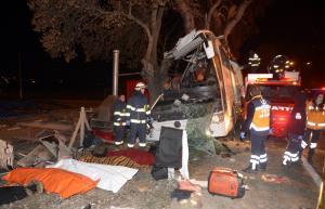 Τραγωδία στην Τουρκία: 11 νεκροί σε τροχαίο με λεωφορείο [pics]