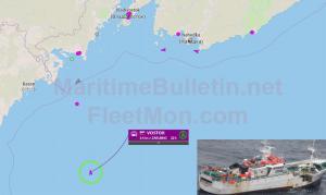 Ρωσικό πλοίο εξαφανίστηκε στη Θάλασσα της Ιαπωνίας!