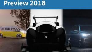 Αυτά είναι τα νέα μοντέλα που ετοιμάζει η VW για το 2018 [vid]