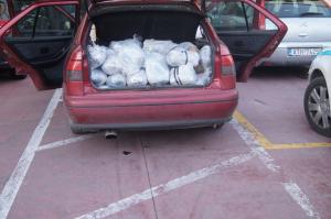 Άρτα: Τον έπιασαν με 129 κιλά κάνναβης στο αυτοκίνητο [pics]