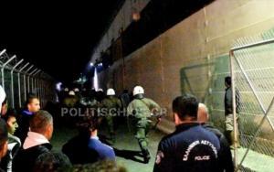 Χίος: Ένταση και προσαγωγές ξανά στη ΒΙΑΛ