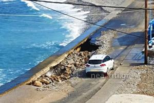 Κρήτη: Κοίταξε αριστερά και είδε αυτές τις εικόνες – Ο δρόμος με τη δική του ξεχωριστή ιστορία [pics, vid]