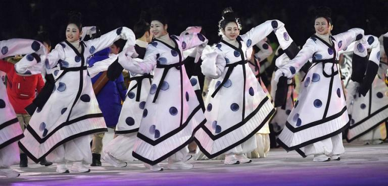 Αποτέλεσμα εικόνας για τελετη έναρξης χειμερινοί ολυμπιακοί αγώνες