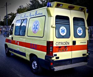 Κρήτη: Εγκλωβίστηκε η οδηγός μετά το τροχαίο