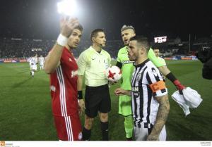 ΠΑΟΚ – Ολυμπιακός: Έκλεισε το φύλλο αγώνα κι αποχώρησε κι ο διαιτητής Αρετόπουλος!