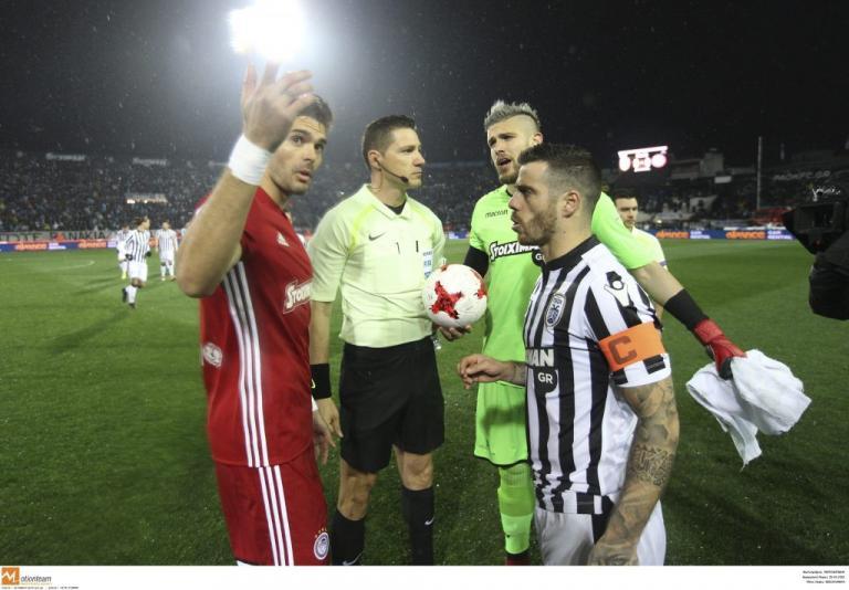 ΠΑΟΚ – Ολυμπιακός: Έκλεισε το φύλλο αγώνα κι αποχώρησε κι ο διαιτητής Αρετόπουλος! | Newsit.gr