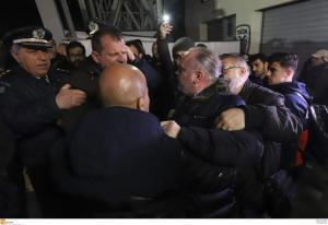 ΠΑΟΚ – Ολυμπιακός: Ένταση κατά την αποχώρηση της «ερυθρόλευκης» αποστολής! [pics]