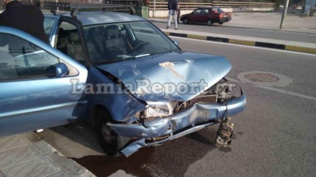 Λαμία: Μετωπική σύγκρουση με το καλημέρα – Οι εικόνες του νέου τροχαίου ατυχήματος