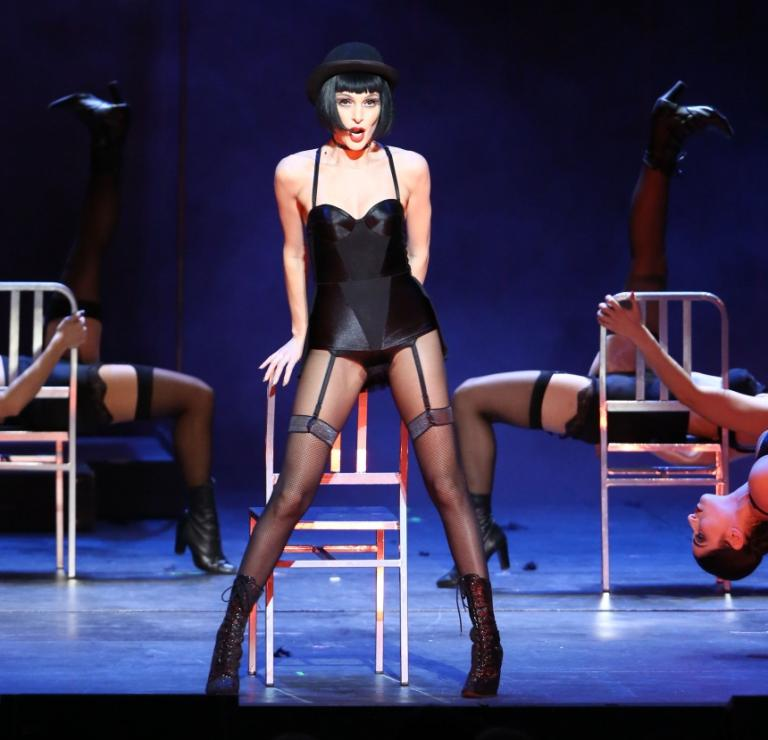 Τάμτα: Η συγκίνησή της για το Cabaret και η backstage φωτογραφία από την παράσταση | Newsit.gr