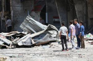 20 άμαχοι νεκροί από αεροπορικές επιδρομές στη Συρία