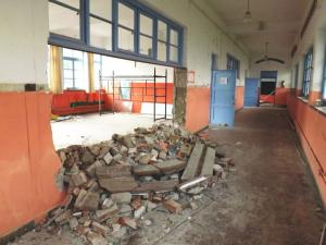 Μυτιλήνη: Έτσι είναι σήμερα το ιστορικό σχολείο που χτίστηκε επί Ελευθερίου Βενιζέλου – Εργασίες για την επισκευή του [pics]
