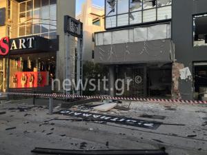 Έκρηξη σε κατάστημα επίπλων στο Μαρούσι – Αποκλεισμένη μια λωρίδα κυκλοφορίας Κηφισίας