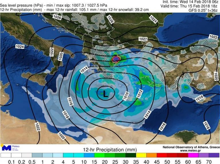 Καιρός: Έρχεται ο Κρέοντας από το βράδυ της Τετάρτης! Βροχές και καταιγίδες σε όλη τη χώρα | Newsit.gr