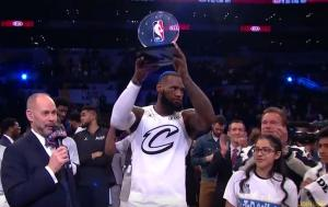 All Star Game: Έτσι βγήκε MVP ο ΛεΜπρόν [vid]