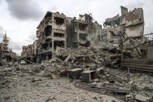 Συρία: Σε «κλοιό» η πόλη Ντούμα από τον στρατό του Άσαντ – Πάνω από 1.100 οι νεκροί άμαχοι