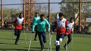 Ανάπηροι πολέμου βρήκαν… ελπίδα στο ποδόσφαιρο! «Η ζωή δεν σταματά»