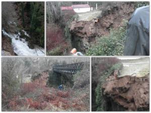 Ήπειρος: Αρχαιολογικός χώρος είχε χαρακτηριστεί το Θεογέφυρο που κατέρρευσε