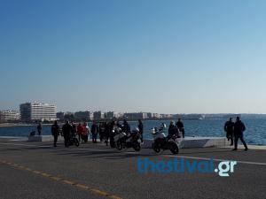 Θεσσαλονίκη: Είδαν την ηλικιωμένη να πηδάει στα νερά του Θερμαϊκού! [pics]
