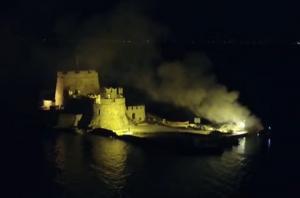 Ναύπλιο: Κοίταξαν το Μπούρτζι και είδαν αυτές τις εικόνες – Η νύχτα της μεγάλης αναστάτωσης [pic, vid]