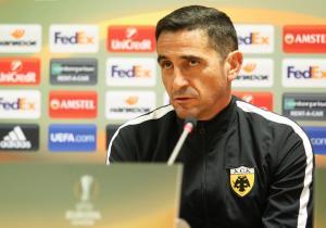 ΑΕΚ – Ντιναμό, Χιμένεθ: «Κάνουμε μία καλή σεζόν, πάμε για τη νίκη»