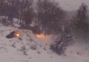 Κομοτηνή: Η φωτιά στο χιόνι και η εξήγηση της εικόνας – Απίθανες εικόνες στο δάσος της Νυμφαίας [pic]