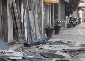 Πάτρα: Τίναξαν στον αέρα τα ΕΛΤΑ! Οι εικόνες καταστροφής [vid]