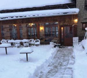 Στα 40 εκατοστά το χιόνι στο Μέτσοβο [pics]