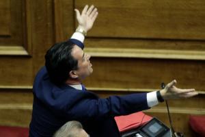 """Σκοτωμός Τζανακόπουλου – Γεωργιάδη για Novartis! """"Γι' αυτό δεν θα παραιτηθώ"""""""