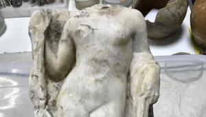 Ακέφαλη Αφροδίτη βρέθηκε στο Μετρό Θεσσαλονίκης [pic]