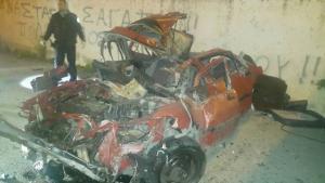Ρόδος: Πτώση θανάτου από τα 13 μέτρα για οδηγό [pics]