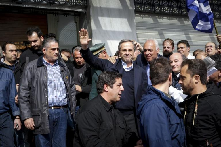 Συλλαλητήριο Αθήνα: Αποθεώθηκε ο βουρκωμένος Αντώνης Σαμαράς