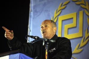 Έκρηξη στο γραφείο του πρώην βουλευτή της Χρυσής Αυγής, Μιχάλη Αρβανίτη [pics, vid]
