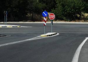 Εργασίες συντήρησης στην εθνική οδό Θεσσαλονίκης – Ν. Μουδανίων
