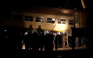 Επτά οι νεκροί από τη σύγκρουση τρένων στη βόρεια Αίγυπτο