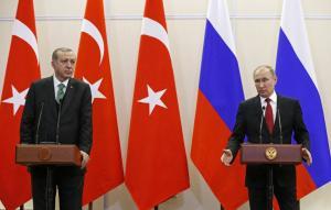 Συνάντηση Πούτιν, Ερντογάν και Ροχανί τον Απρίλιο στην Άγκυρα