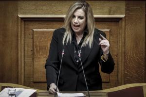 Γεννηματά για Σκοπιανό: Δεν συμμεριζόμαστε την εκτίμησή τους για την αποτελεσματικότητα της συμφωνίας