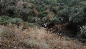 Χανιά: Τύχη «βουνό» για δύο γυναίκες – Έπεσαν σε γκρεμό 70 μέτρων αλλά σώθηκαν!