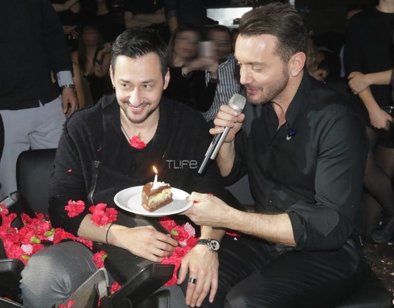 Γενέθλια για τον Πάνο Καλλίδη με την σύντροφό του, Λεάννα Μάρκογλου στο πλευρό του! [pics,vid]   Newsit.gr