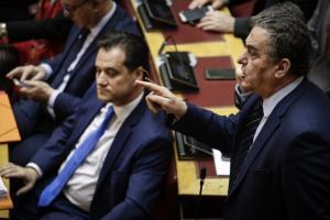 Βουλή: Άγρια κόντρα Παπαγελόπουλου – Γεωργιάδη – Αθανασίου