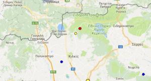 Σεισμός στις Σέρρες