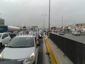 Κίνηση: Χάος στον Κηφισό – Απίστευτο μποτιλιάρισμα σε κεντρικούς δρόμους