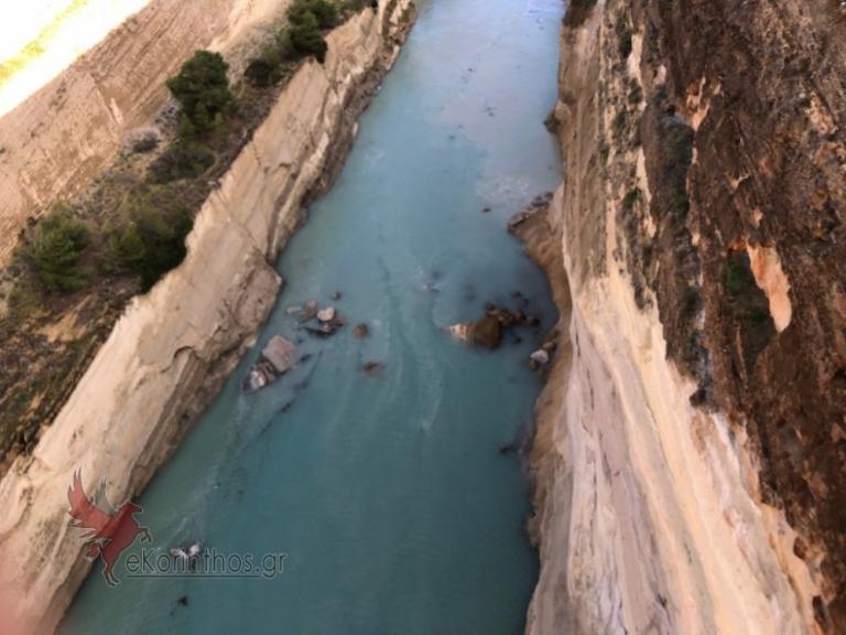 Κόρινθος: Έκλεισε ο Ισθμός λόγω κατολίσθησης – Απίστευτες εικόνες [pics, vid] | Newsit.gr