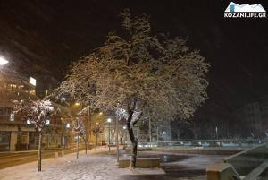 Καιρός: Χιόνισε σε Κοζάνη και Καλαμπάκα [pics, vid]