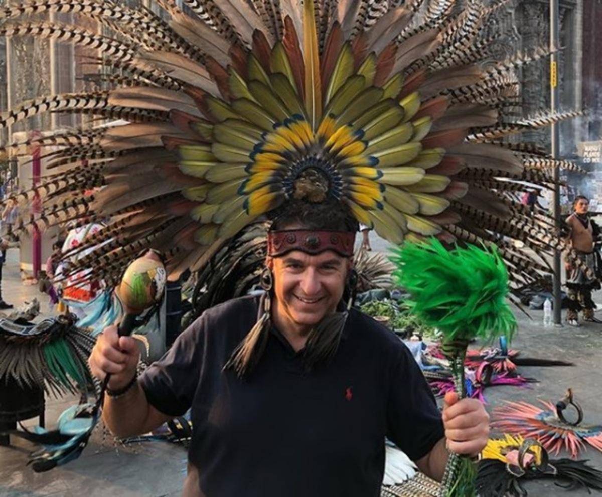 Γιώργος Λιάγκας: Τριήμερο στο Μεξικό! [pics,vid]   Newsit.gr