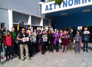 Διαμαρτυρία φιλοζωικών οργανώσεων στα Χανιά