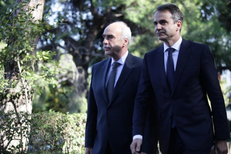 Συνάντηση Μητσοτάκη με Μεϊμαράκη, Μπακογιάννη και Δένδια | Newsit.gr